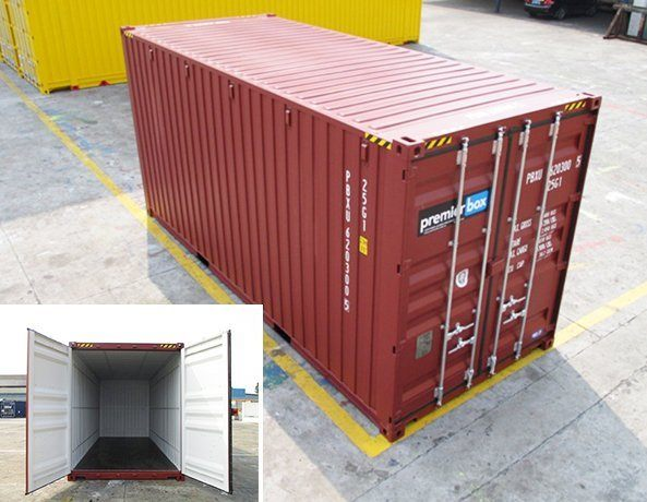 20' PALLETWIDE CONTAINER HIRE DEV