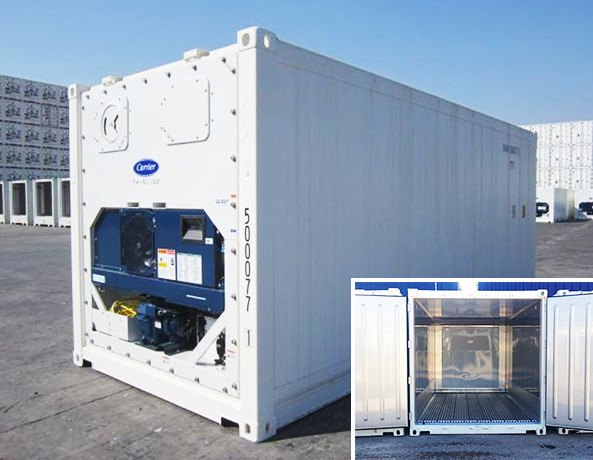 REFRIGERATED SHIPPING CONTAINERS FOR HIRE DEV