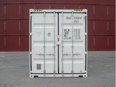 high cube shipping container with door both ends