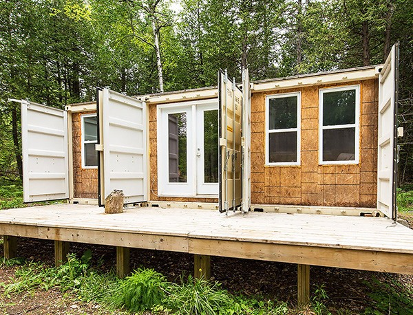 Budget Shipping Container Home