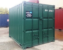 10' shipping container