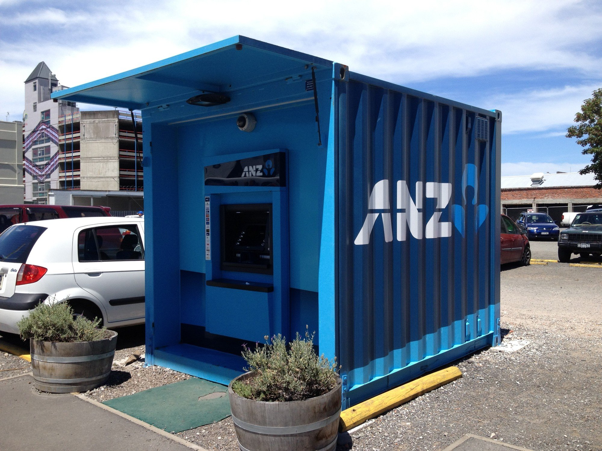 Shipping Container Bank Christchurch