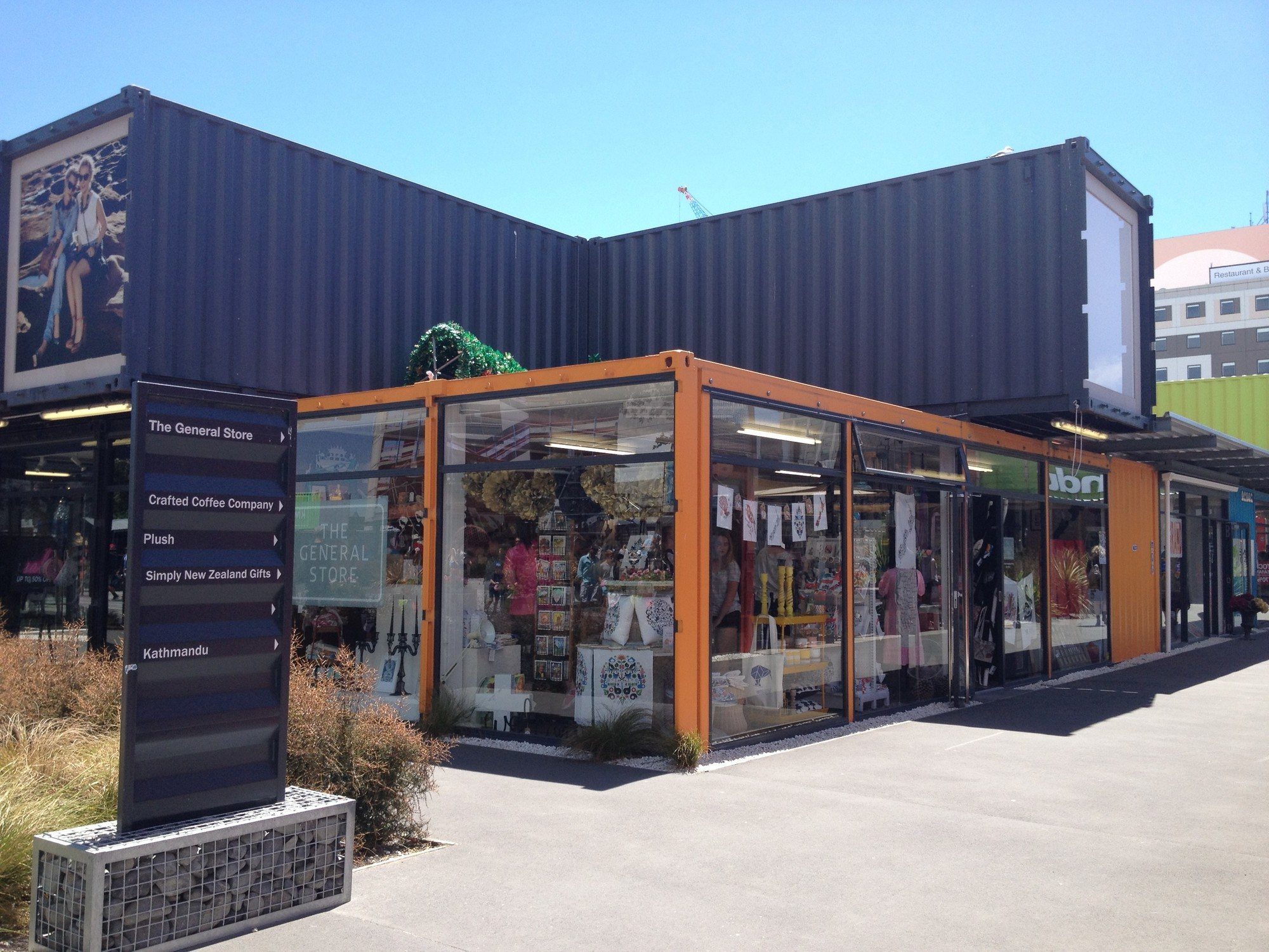 Christchurch Shipping Container Mall