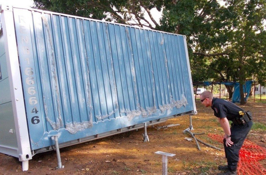 Building a Foundation for your Shipping Container Premier Box