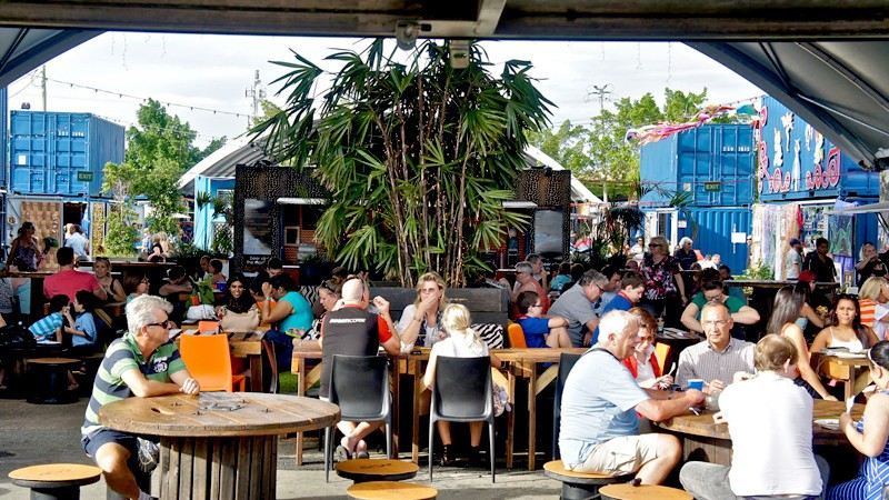 Brisbane Shipping Container Market - Eat Street Hamilton