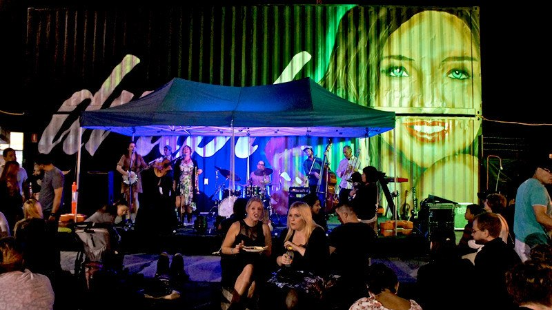 Brisbane Shipping Container Market - Eat Street Hamilton