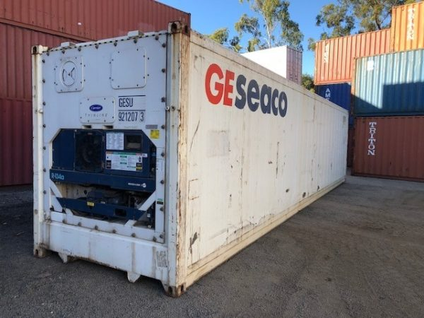 NEW & USED - REFRIGERATED SHIPPING CONTAINERS FOR SALE DEV