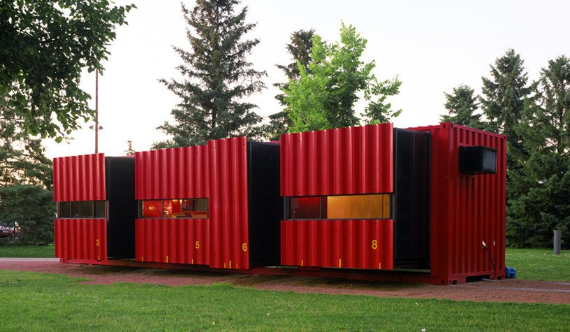 Mobile Shipping Containers home