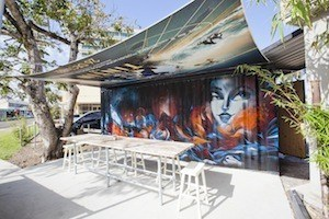 Mambo Coffee Mooloolaba Shipping Container Coffee Shop