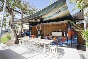 Mambo Shipping Container Coffee Shop