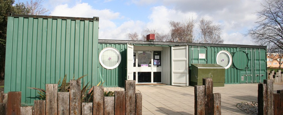 Shipping Container Youth Centre - Mile End Park
