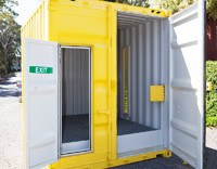 Dangerous Goods Shipping Container