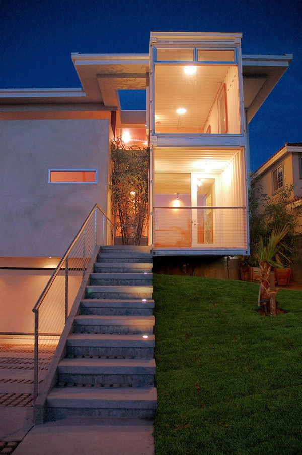 Redondo beach shipping container home 3