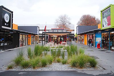 Re:START Shipping Container Mall Christchurch
