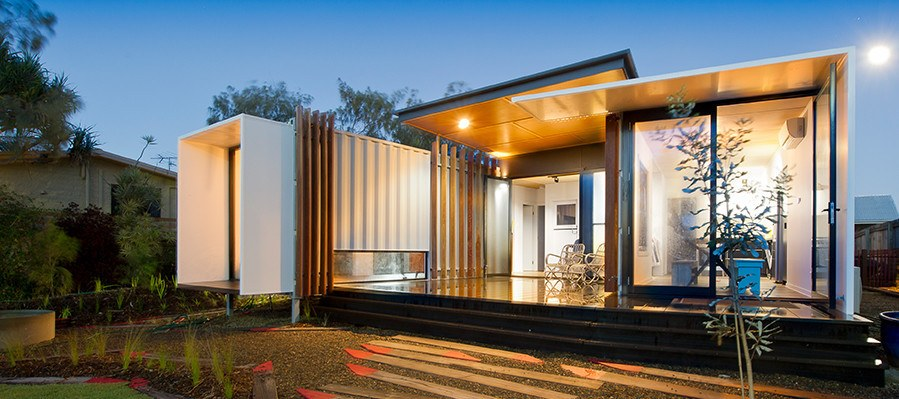 a house designer on holiday sunshine coast house design design my house Buddina Beach Box Shipping Container Home