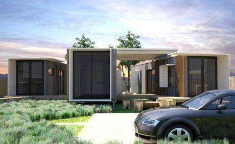 Home Based Shipping Container Office Artist Impression