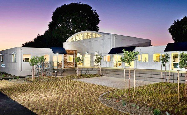 Shipping Container School - The Wardorf School, Orange County California