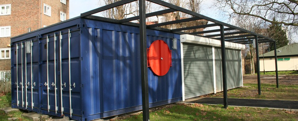 Shipping Container Youth Centre