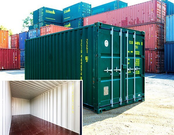 Buy New and Used 10ft, 20ft, 40ft Shipping Containers for Sale