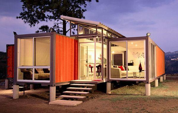 Gut Shipping Container Home Design