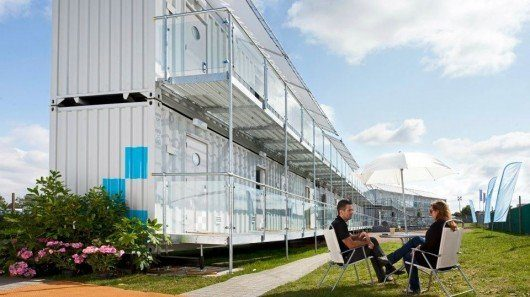 Portable Shipping Container Hotel