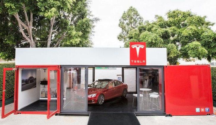 Tesla Pop Up