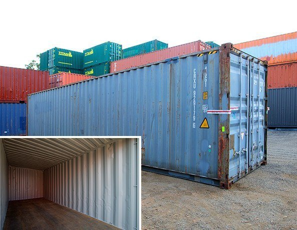Buy New and Used 10ft, 20ft, 40ft Shipping Containers for