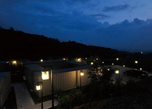 Boutique Shipping Container Hotel in China