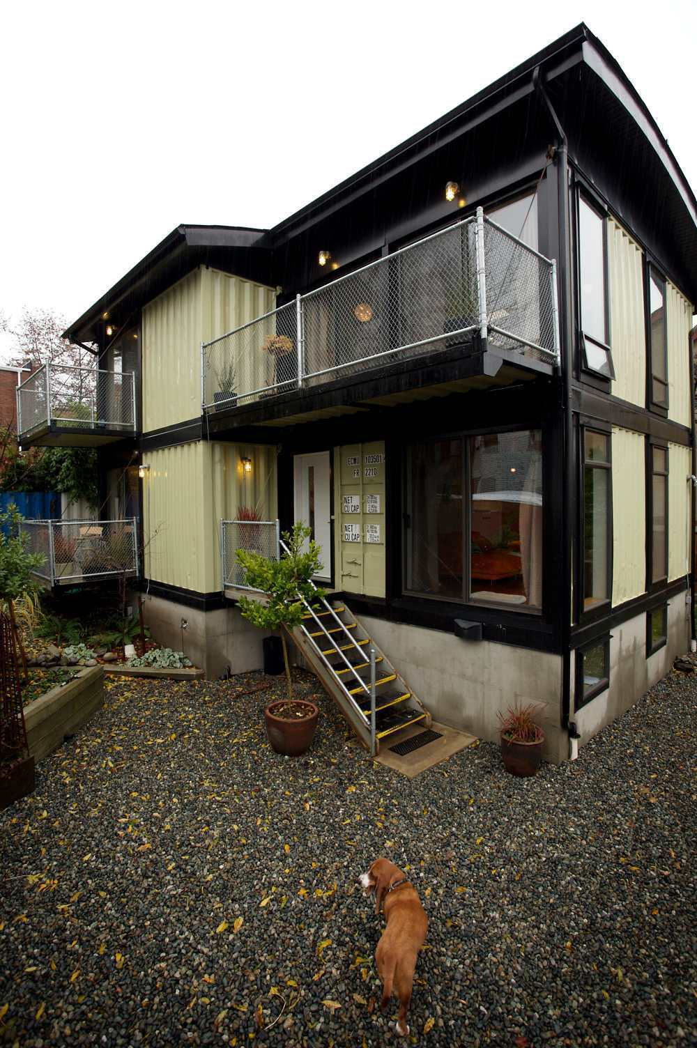 Zigloo Domestique shipping container house 3